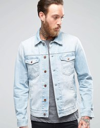 Wrangler Lightwash Denim Jacket Brisbane Blue