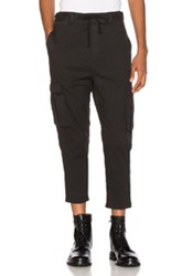 Stampd Tract Cargo Pants In Black