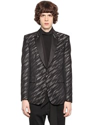 Just Cavalli Wool And Viscose Jacquard Jacket