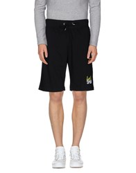 Le Coq Sportif Trousers Bermuda Shorts Men Black