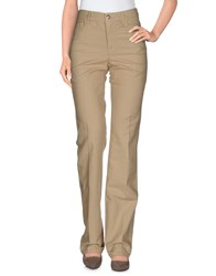 Armani Collezioni Trousers Casual Trousers Women Sand