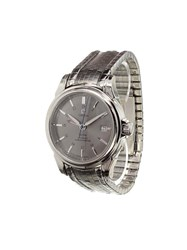 Omega 'De Ville Gmt' Analog Watch Stainless Steel