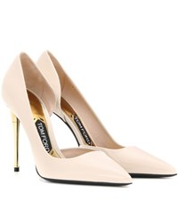 Tom Ford Patent Leather Pumps Neutrals