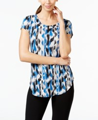 Alfani Printed Cap Sleeve Top Only At Macy's