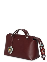 Fendi Small By The Way Bag W Flower Details