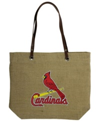 Little Earth St. Louis Cardinals Burlap Tote Brown