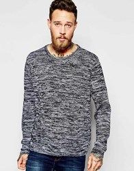 Dr. Denim Dr Denim Burner Burn Out Jumper Black