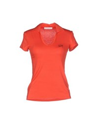 Guess By Marciano Topwear Polo Shirts Women Orange