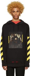 Off White Black Narciso Hoodie