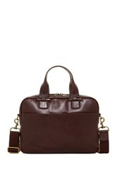 Ugg Branford Leather Slim Briefcase Brown