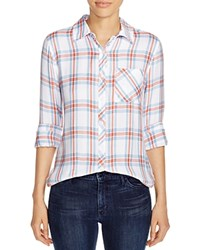 Prive Plaid Shirt Combo