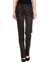 Datch Casual Pants Dark Brown