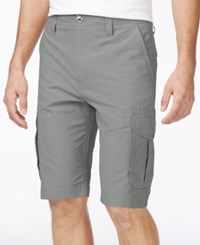 Ocean Current Men's Peached Cargo Shorts Light Grey