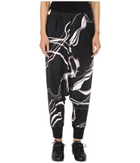 Yohji Yamamoto W Motion Pants Aop Lightning Women's Casual Pants Black