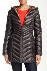 Laundry By Shelli Segal Quilted Down Jacket Gray