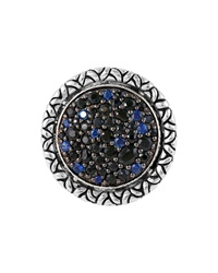 John Hardy Naga Midnight Colorway Round Ring Size 7