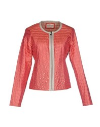 Giorgia And Johns Giorgia And Johns Coats And Jackets Jackets Women Coral
