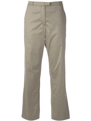 Jil Sander Vintage Straight Leg Trousers Nude And Neutrals