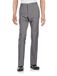 Ralph Lauren Anthony Wool Trousers Heather Grey