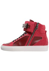 Just Cavalli Hightop Trainers Rot Red