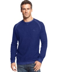 Tommy Bahama Big And Tall Barbados Crew Neck Sweater Charter