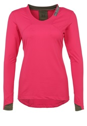 Gore Running Wear Long Sleeved Top Jazzy Pink Ivy Green
