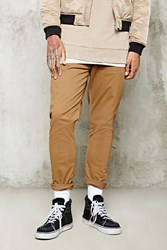 Forever 21 Slim Fit Woven Pants