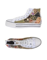 Happiness Footwear High Tops And Trainers Women Gold