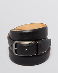 The Men's Store At Bloomingdale's Park Ave Leather Belt Black