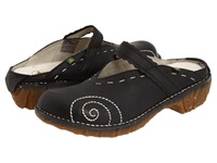 El Naturalista Yggdrasil N096 Black Women's Clog Shoes