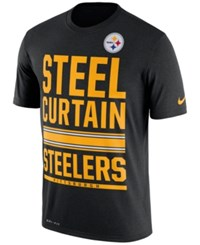 Nike Men's Pittsburgh Steelers Local Fans T Shirt Black