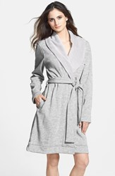 Women's Ugg 'Blanche' Robe Seal Heather