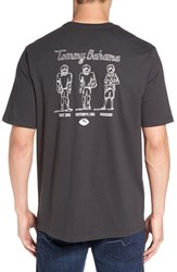 Tommy Bahama Men's Big And Tall 'Tight End Defensive End' Graphic T Shirt