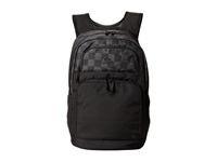 Quiksilver Prism Backpack Small Checks Black Backpack Bags
