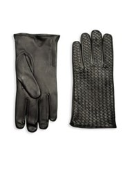 Hilts Willard Billy Lambskin Leather Gloves Black Brown