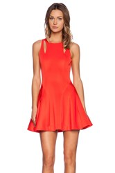 Bless'ed Are The Meek Bonfire Dress Red