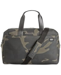 Jack Spade Men's Camo Overnight Bag