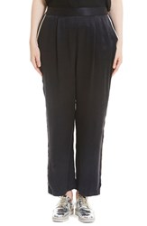 Elvi Plus Size Women's Silk Pants