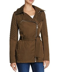 Bcbgeneration Asymmetric Zip Anorak Compare At 228 Olive
