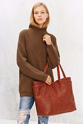 Bdg Large Reversible Pocket Tote Bag Brown