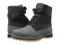 Dc Uncas Black Battleship Black Men's Lace Up Boots