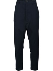 Vivienne Westwood Man Dropped Crotch Trousers Black