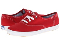 Keds Champion Canvas Cvo Ribbon Red Women's Lace Up Casual Shoes