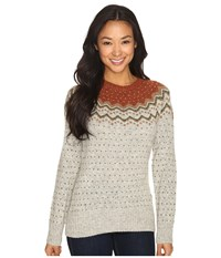 Fjall Raven Vik Knit Sweater Tarmac Women's Sweater Olive