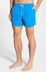 Men's Boss 'Lobster' Volley Swim Shorts