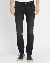 Paul Smith Charcoal Washed Slim Fit Jeans