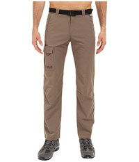 Jack Wolfskin Canvas Safari Pants Siltstone Men's Casual Pants Brown