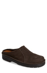 Naot Footwear 'Bjorn' Clog Men Oily Brown Nubuck