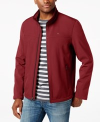 Tommy Hilfiger Softshell Classic Zip Jacket Red