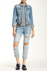 Pistola Baggy Distressed Jean